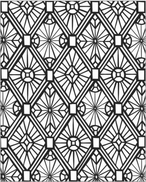 Free Mosaic Coloring Pages   17248