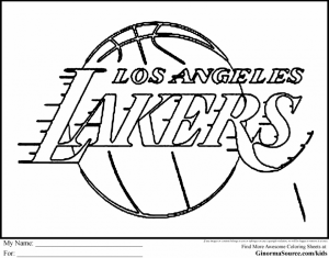 Free NBA Coloring Pages for Kids   AD58L