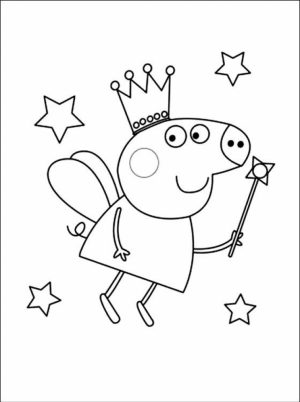 Free Peppa Pig Coloring Pages to Print   36088
