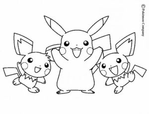 Free Pokemon Coloring Page   5021