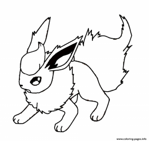 Free Pokemon Coloring Page to Print   61050