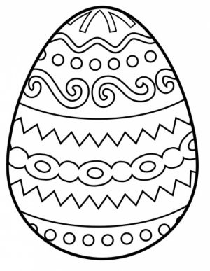 Free Printable Easter Egg Coloring Pages for Adults   56747