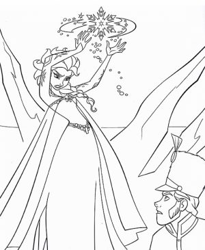 Free Printable Queen Elsa Coloring Pages Disney Frozen   5218ct