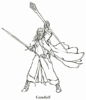 Free Printable The Hobbit Coloring Pages   9302