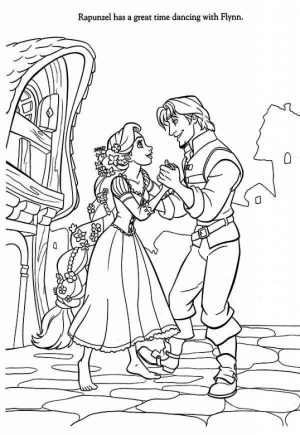 Free Rapunzel Coloring Pages to Print Disney Princess   W5D6C