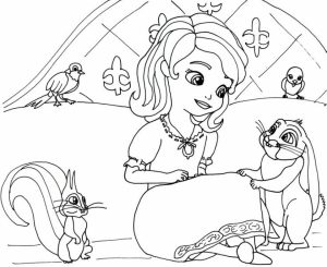 Free Sofia the First Coloring Pages to Print   20133