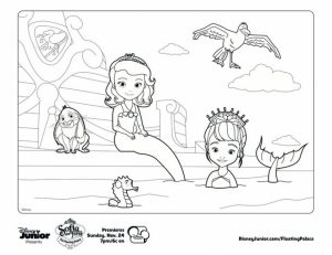 Free Sofia the First Coloring Pages to Print   22224