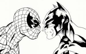 Free Spiderman Coloring Pages   5708