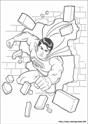Free Superman Coloring Pages   46288