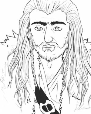 Free The Hobbit Coloring Pages Online   8361