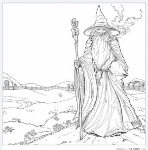 Free The Hobbit Coloring Pages Online   9182