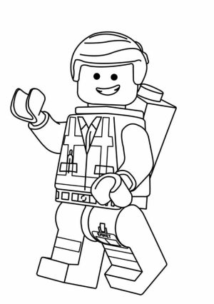 Free The Lego Movie Coloring Pages   623680