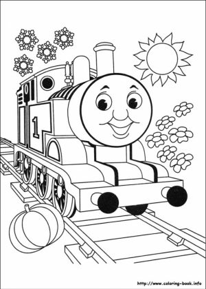 Free Thomas And Friends Coloring Pages for Kids   ddpA0