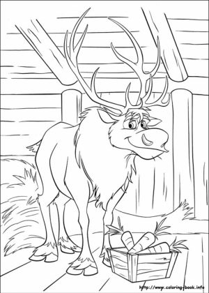 Frozen Coloring Pages Free Printable   107444