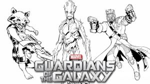 Guardians of the Galaxy Coloring Pages Printable   42719