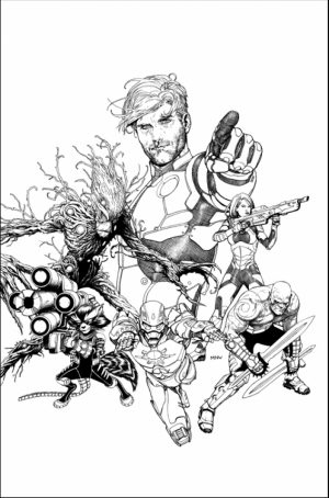 Guardians of the Galaxy Superheroes Coloring Pages Online   25379