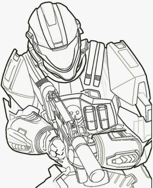 Halo Coloring Pages for Kids   217mg