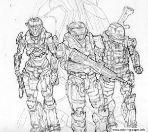 Halo Coloring Pages Printable   80602