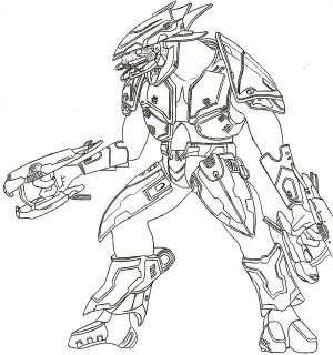 Halo Coloring Pages Superhero Printables   a61j6