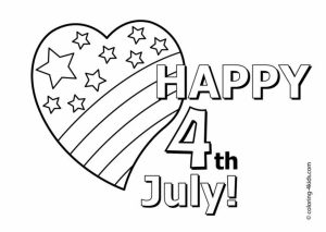 Happy 4th of July Coloring Pages   y319c