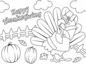 Happy Thanksgiving Coloring Pages   8cb41