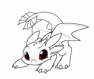 How to Train Your Dragon Coloring Pages to Print   75bc5
