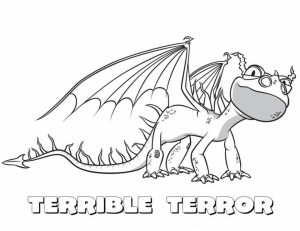 How to Train Your Dragon Coloring Pages to Print   9gh69