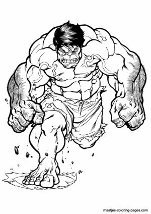 Hulk Coloring Pages for Boys   56173