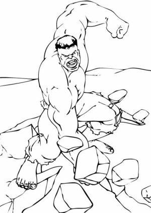 Hulk Coloring Pages for Boys   78102