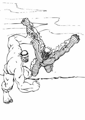 Hulk Coloring Pages to Print for Boys   99501