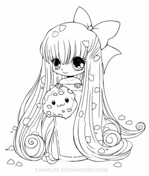 Kids' Printable Chibi Coloring Pages   LC75F