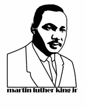 Kids' Printable Martin Luther King Jr Coloring Pages Free Online   p2s2s