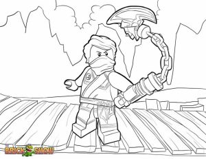 Lego Ninjago Coloring Pages Free Printable   434408