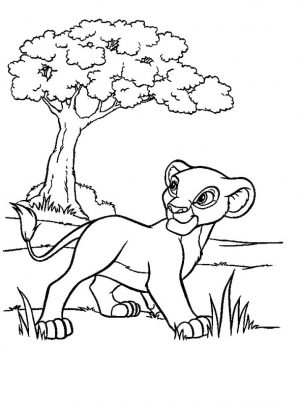 lion king coloring book pages – 846fg