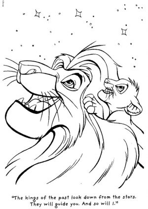 lion king coloring book pages – 89310