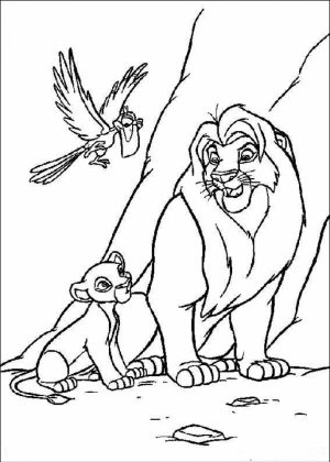 Lion King Coloring Pages to Print   90318