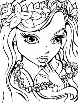 Lisa Frank Coloring Pages for Girls   35469