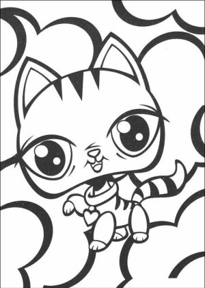 Littlest Pet Shop Coloring Pages to Print Online   37201