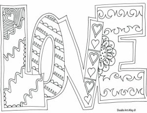 Love Coloring Pages Printable   7cv59