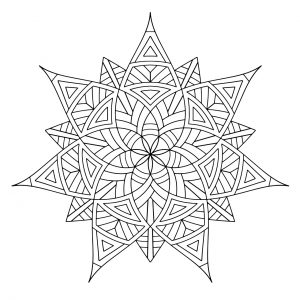 Mandala Design Coloring Pages   3aml4