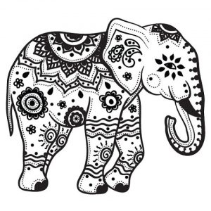 Mandala Elephant Coloring Pages   7e3v9