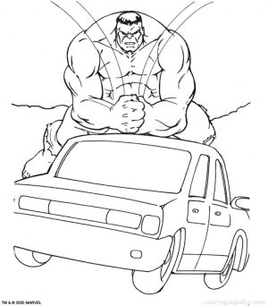 Marvel Coloring Pages Hulk   jwam6