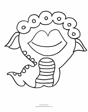 Monster Coloring Pages Free for Kids   91637