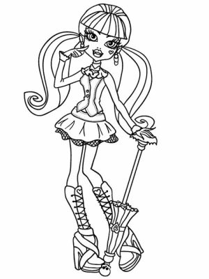 Monster High Coloring Pages Free Printable   595991