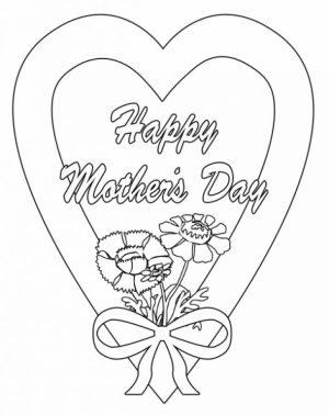 Mothers Day Online Coloring Pages to Print   28903