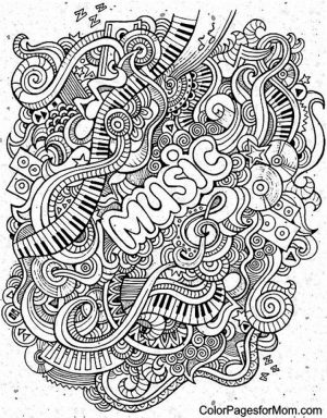 Music Coloring Pages to Print Online   12603