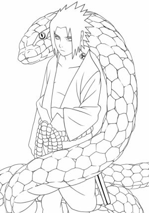 Naruto Characters Coloring Pages   09678