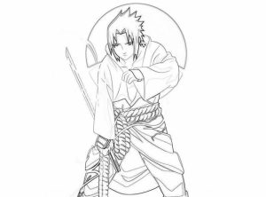 Naruto Coloring Book Pages for Kids   22497