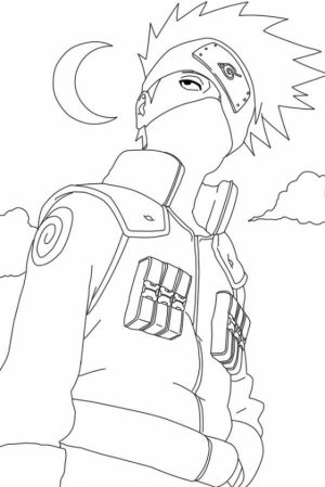 Naruto Shippuden Coloring Pages   09571