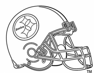 NFL Football Helmet Coloring Pages Free to Print Out   13275